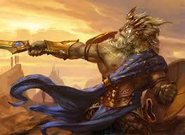 ajani mentor of heroes magic the gathering