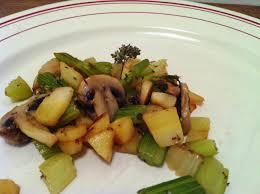cuisiner celeri chignons de sautés au panais et céleri envie de cuisiner