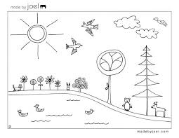Made Earth Day Coloring Sheet Free Printable Template Kite Flying Pages Large Page