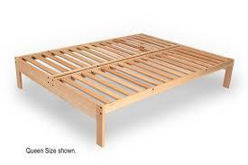 Nomad Platform Bed Frame Full Platform Bed & Queen Platform Bed Frame