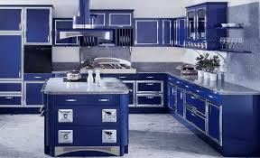 1930s Kitchen Decor Blue