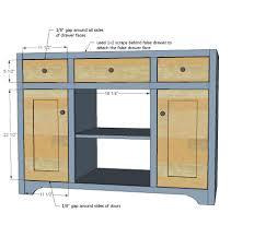 Diy Bathroom Vanity Tower by Ana White Simple Gray Bath Vanity Diy Projects