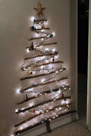 Twinkling Christmas Tree Lights Uk by Diy Christmas Tree Made Of Lights On Wall Warisan Lighting