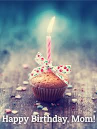 Birthday Cupcake Card for Mom