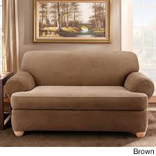 Dual Reclining Sofa Slipcovers by Furniture Sure Fit Sofa Slipcovers Sure Fit Couch Slipcovers