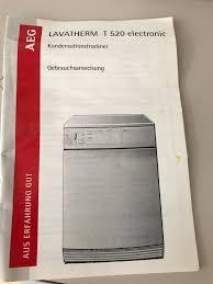 seche linge aeg lavatherm sèche linge aeg à condensation lavatherm t520 bazar lu