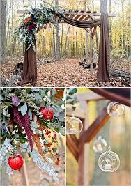 Fall Wedding Arbor Ideas Rustic Color