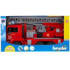Bruder MAN Fire Engine With Water Pump, Light & Sound | For Our ... Bruder Man Fire Engine With Water Pump Light Sound For Our Mb Sprinter With Ladder And Tgs Tank Truck Buy At Bruderstorech Toys Mercedes Benz Ladderlights Man Water Pump Light Sound The 02480 Unimog Wth Amazoncouk Slewing Laddwater Pumplightssounds Mack Truck Minds Alive Crafts Books Super Bundling Big Sale 12 In Indonesia Facebook Bruder Land Rover Defender Preassembled Engine Model 116 Jeep Rubicon Rescue Fireman Vehicle Set