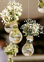 Hipster Wedding Picture Description Light Up Your Reception With This Innovative Decor Idea For An Added Country Feel Add Twine To Cover The Part That Is