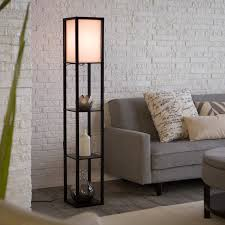 Mainstay Floor Lamp Assembly by Adesso Lighting 3138 01 Wright Etagere Floor Lamp Hayneedle