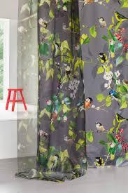 tissu pour rideaux à motif en polyester ophelia création