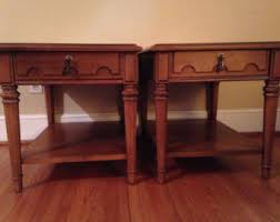 Drexel Heritage Sofa Table by Drexel End Table Etsy