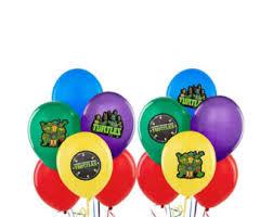 Ninja Turtle Decorations Nz by Ninja Turtle Balloon Etsy