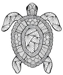 Full Image For Free Coloring Pages Adults Animals Mandala 18 Fun