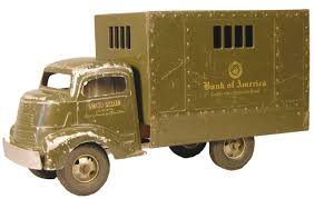 Smith Miller, Toy Truck, Original #132.5, Bank Of America Armoured ... Smith Miller Toy Truck Original United States Army Supply Mack Marx Race Car 1950s Louis And Company Vintage Coast Smitty Toys Farm Toy Auction Smithmiller Sales Brochures Picture History National Automobile Club Weekend Finds Dump Lloyd Ralston Private Collection Auction Frank Messin January 21 2012 Burchard Galleries Sunday September 2014 Lot 1301 Union 76 Tow For Smittys Garage