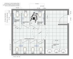 5x8 Bathroom Floor Plan by Bathroom Flooring Commercial Bathroom Floor Plans Commercial