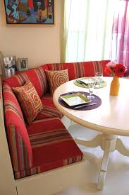 Kitchen: Cheerful Red Striped Fabric And Indian Decor Kitchen ... Ikea Kitchen Banquette Fniture Home Designing Ding Table With Banquette Seating Google Search Ideas For 20 Tips Turning Your Small Into An Eatin Hgtv Design Decorative Diy Corner Refined Simplicity Scdinavian 21 Designs Youll Lust After Nook Moroccan And Banquettes Fresh Australia Table Overhang 19852 A Custom By Willey Llc Join Restoration Room Fabulous Ding Settee