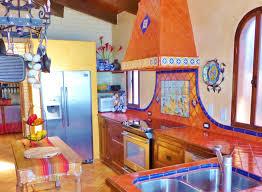 Rustic Kitchen Decor Mexican Tile Backsplash Cow Colours Decorating