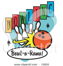 Royalty Free RF Bowling Clipart Illustrations Vector Graphics 1