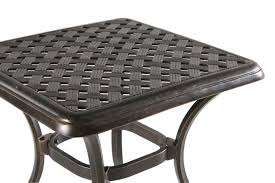 Mathis Brothers Patio Furniture by Agio Heritage Select Square End Table Mathis Brothers Furniture