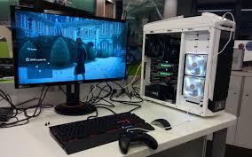 ordinateur de bureau pour gamer réalisation d une configuration pc haut de gamme pour jouer 4k
