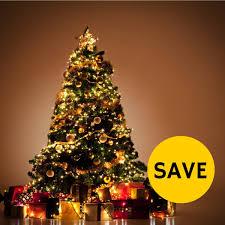 NICEXMAS Christmas Tree Topper LED Star Battery Operated