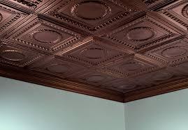 real copper ceiling tiles modern ceiling design faux copper