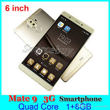 Best New Mate 9 Smart Phone 6 Inch Big Ips Hd Screen 720 1280 Quad