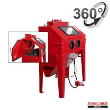 Harbor Freight Sandblasting Cabinet by Sandstrahlanlage 400 L Mit Staubabsaugung Strahlkabine