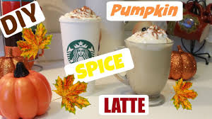 When Are Pumpkin Spice Lattes At Starbucks by Diy Pumpkin Spice Latte Starbucks Fall Drink Youtube