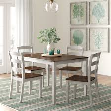 Grey Kitchen & Dining Room Sets You'll Love In 2019 | Wayfair Upholstered Modern Ding Room Chairs Mid Century Table Teal Blue Fabric Set Of 2 Edloe Finch Colorful Painted Inspiration Addicted Mod The Sims And Chair In 12 Fluro Colours Hot Item Extension Hpl Glass Grey Fniture Table With Chairs Lamps Whats On Pinterest Keep Calm These Beautiful Turquoise Amazing Resin Gorgeous Oak 6 Made For Sale Weybridge Surrey Gumtree American Drew Park Studio Contemporary 9 Piece Bright In Style With Designer Kitchen Lazboy