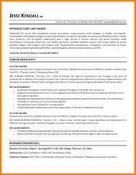 Sample Of Nursing Resume Unique Hospice Nurse Examples Baskanai