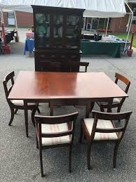 China Cabinet And 5 Pc Dining Table For Sale In Norfolk VA