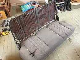 Rv Jackknife Sofa With Seat Belts by Astrosafari Com U2022 Dave U0027s U002704 Awd Camper Build