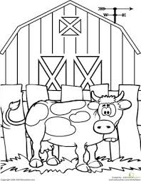 Cow Coloring Pages 53