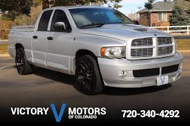 2005 Dodge Ram 1500 SRT-10 | Victory Motors Of Colorado The Dodge Ram Srt10 Was The First Hellcat Topofline Dodge Ram Viper V10 505hp Youtube A Future Collectors Car Hennessey Venom 800 Twin Turbo Road Test Review Viper Motor Performance Exhaust Fpr Sale 2004 For 93257 Mcg Durango Srt Pickup Fills Srt10sized Hole In Our Heart 11kmile 2005 6speed On Bat Auctions Streetside Classics Nations Trusted Classic Dakota With Engine Craigslist Truck Midwest Exchange