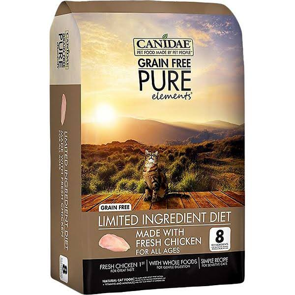 Canidae Grain Free Pure Elements Cat And Kitten Formula Food - Fresh Chicken, 2.5lbs