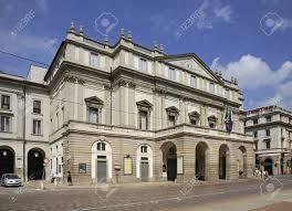 100 House In Milan La Scala Opera House In Lombardy Italy
