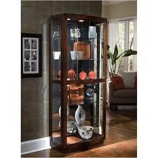Pulaski Display Cabinet Vitrine by Pulaski Furniture Accents And Curios Accent Curio