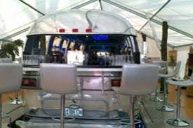 1971 Airstream Tradewind De 24 Made As Retro Diner For Thierry In France We Gutted It Painted The Inside Walls Custom All Bar Curbed Dinette