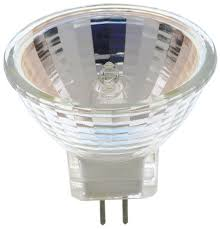 satco s4626 20 watt mr16 halogen g8 base 120 volt clear fl 36 beam
