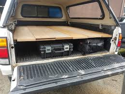 Easy Sleeping Platform For Truck Bed – Highpoint Outdoors Truck Bed Tool Box Staggering Show Us Your Sleeping Desk To Glory Drawers And Platform Build Luxury Post Pics Of Mods For Beautiful Tacoma Storage Collection Also Diy Weekend Camper Youtube Ipirations And Short Diy Fabulous Pictures Truckbed Easy Highpoint Outdoors 87 4runner Platform With Drawers