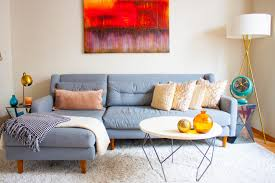 Colors For A Small Living Room by Small Spaces Apartment Therapy