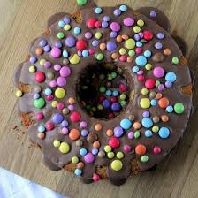 schokoladen kuchen mit smarties rezeptebuch