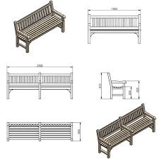 Memorial Park Bench Rosehill Furniture Shop