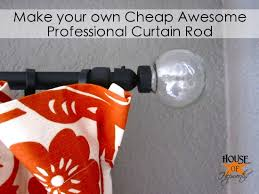 Curtain Rod Bracket Extender Walmart by How To Make A Cheap Awesome Professional Curtain Rod
