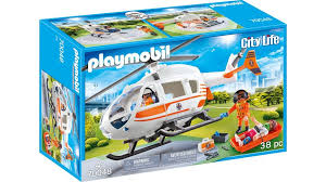 playmobil 70048 city rettungshelikopter