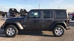 THE ALL NEW 2018 JEEP WRANGLER UNLIMITED JL SPORT WALK AROUND REVIEW ...
