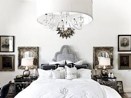 Gallery Of With Chandeliers Ideas Chandelier In Images Master Bedroom Charcoal Dark Gray Wall Paper Upholstered Modern Platform Bed Amy Elbaum Designs
