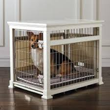 Luxury White Pet Residence Dog Crate